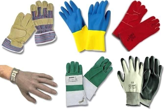 ¿Cuales son los tipos de guantes industriales?
