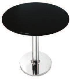 tavolo in polimero nero o bianco art.89