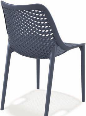 GS 122 Sedia impilabile con struttura in polipropilene e fibra di vetro.€ 49,99+IVA+TRASPORTO