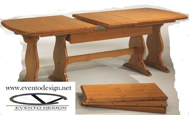 art.89 tavolo con allunga