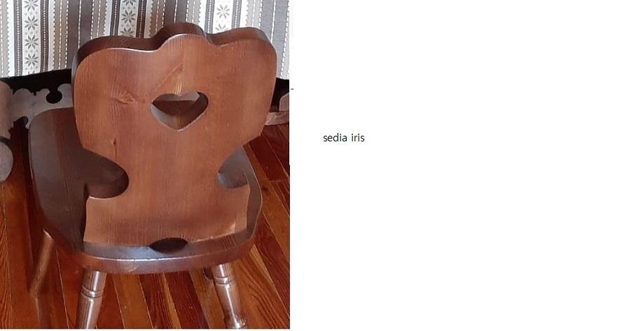 Sedie tirolesi, sgabelli in legno, sgabelli tirolesi