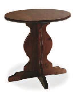 tavolo fratino piano tondo varie misure art.87