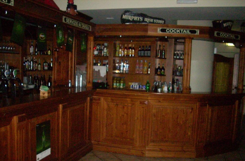 bancone per brasserie e birreria