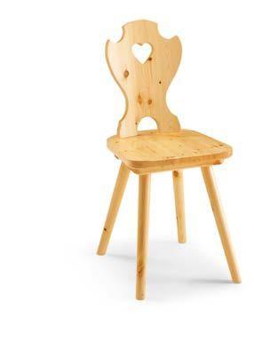 sedia cuore