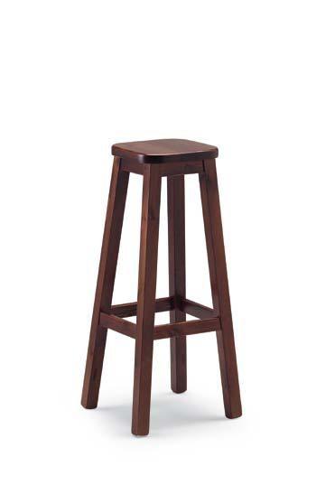 sgabello legno pino h.80 COD. H/309