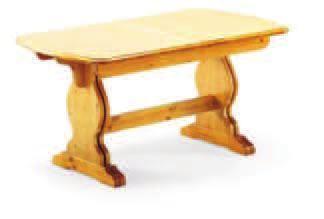 tavolo allungabile 130/170x80x3- T/300- H.75