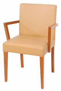 sedia con braccioli AIA 120