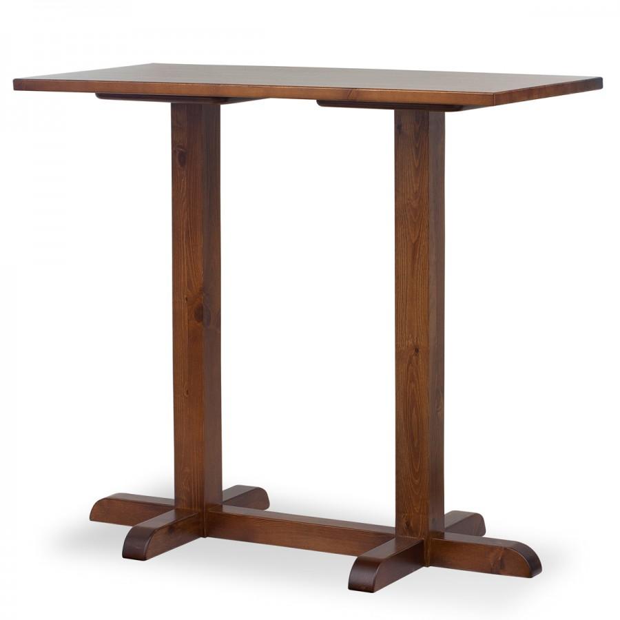 Tavoli in legno per ristorazione pub food e bar sgabello for Tavolo alto usato