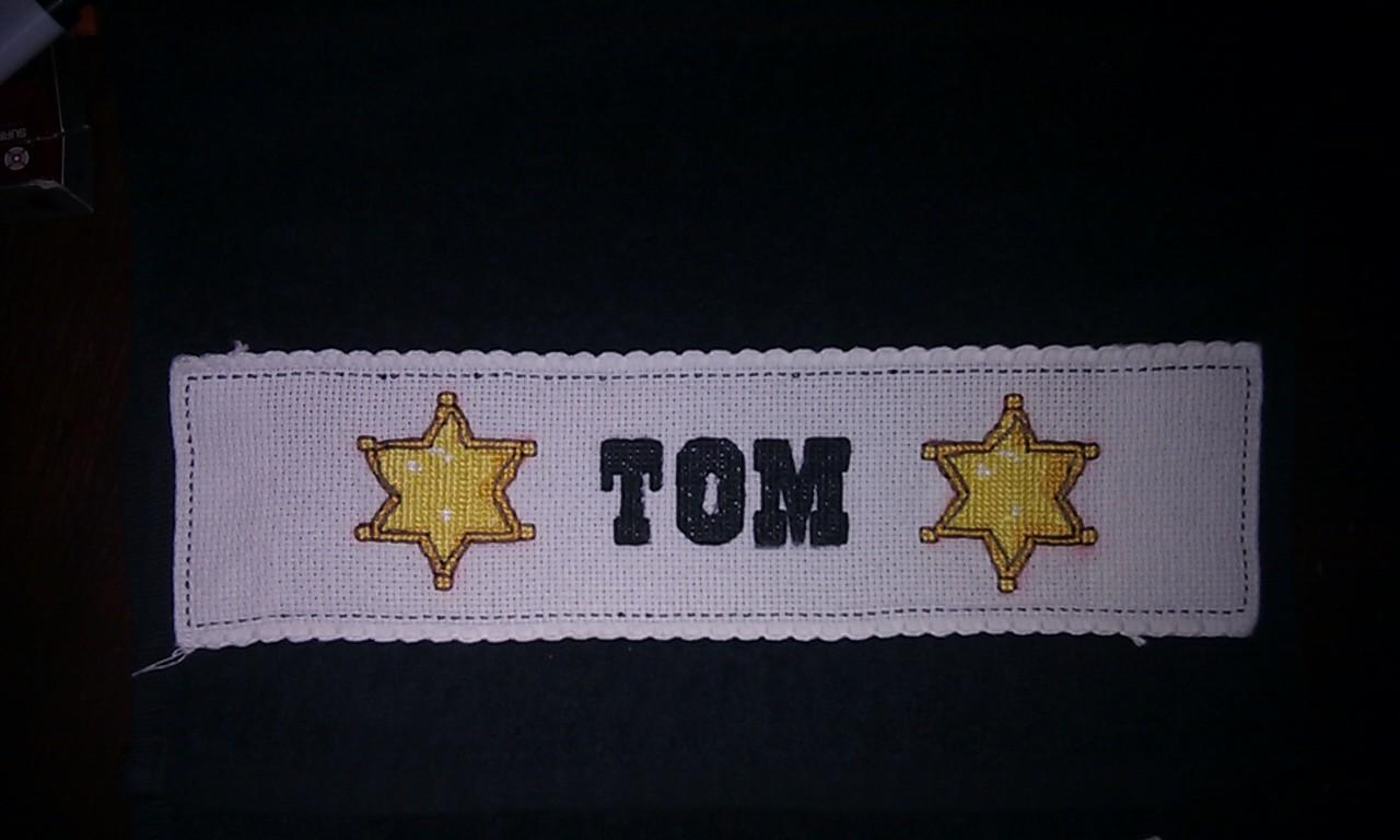 """Borduren """"Tom"""""""