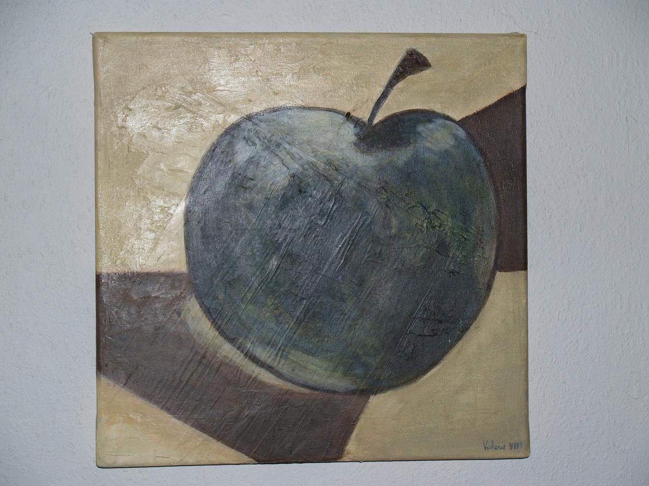 Appel (acryl op doek)