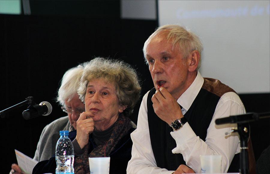 Christine Manessier et Jean-François Cocquet - Colloque Robert Mallet - Abbeville - Samedi 21 mars 2015