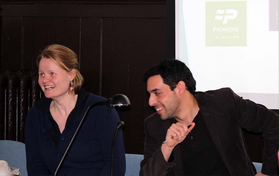 Mlle Marion BONVARLET et Monsiieur Frédéric-Nicolas KOCOUREK, conférenciers