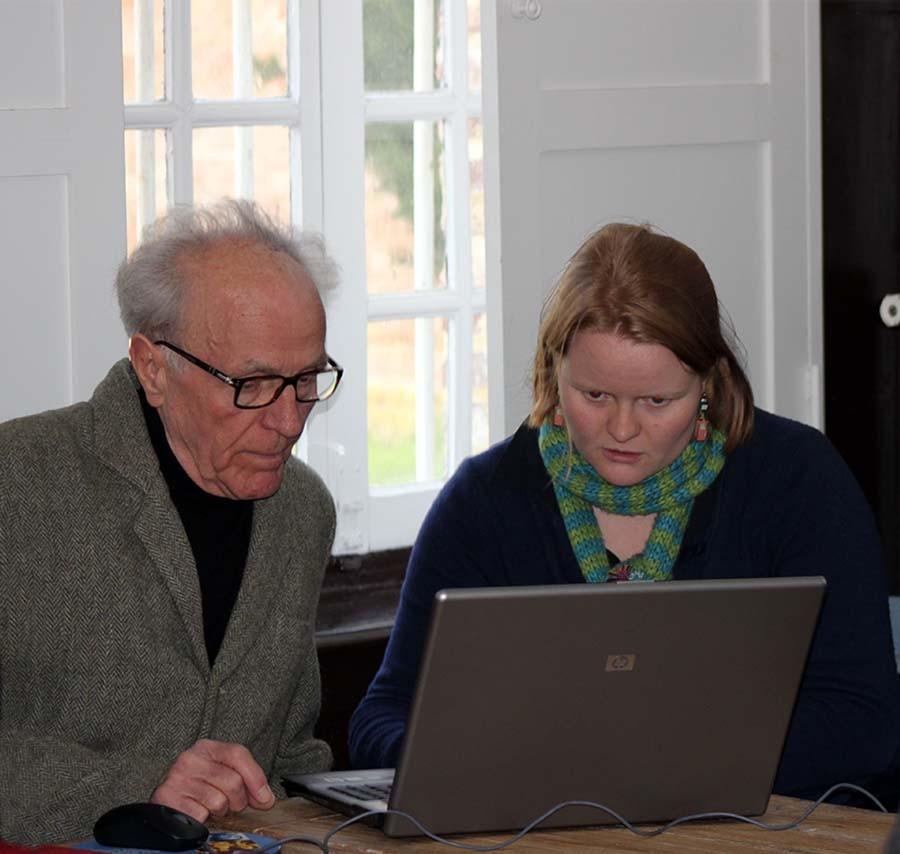 Mlle Marion BONVARLET et Monsieur Jean-Jacques BECQUET, secrétaire de la SEA