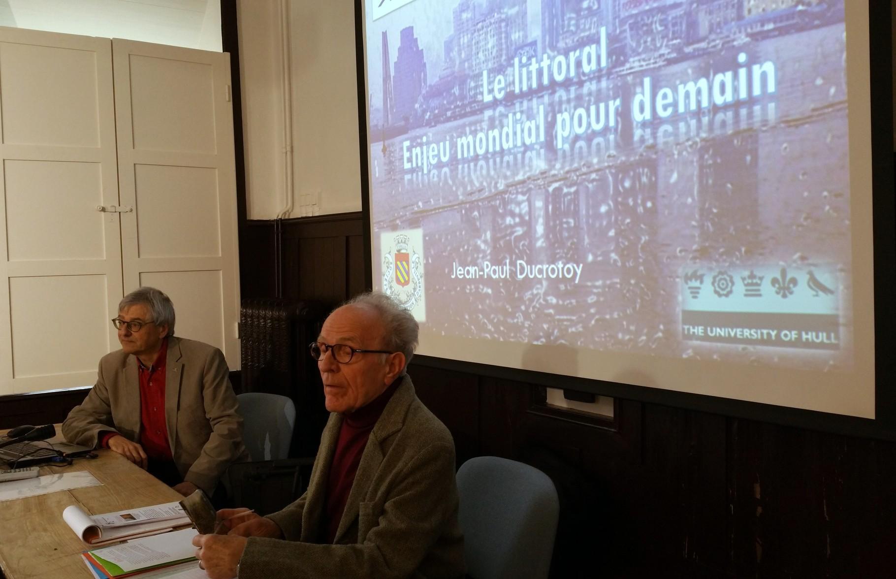 LE LITTORAL :  ENJEU MONDIAL POUR DEMAIN - Conférence de Jean-Paul Ducrotoy