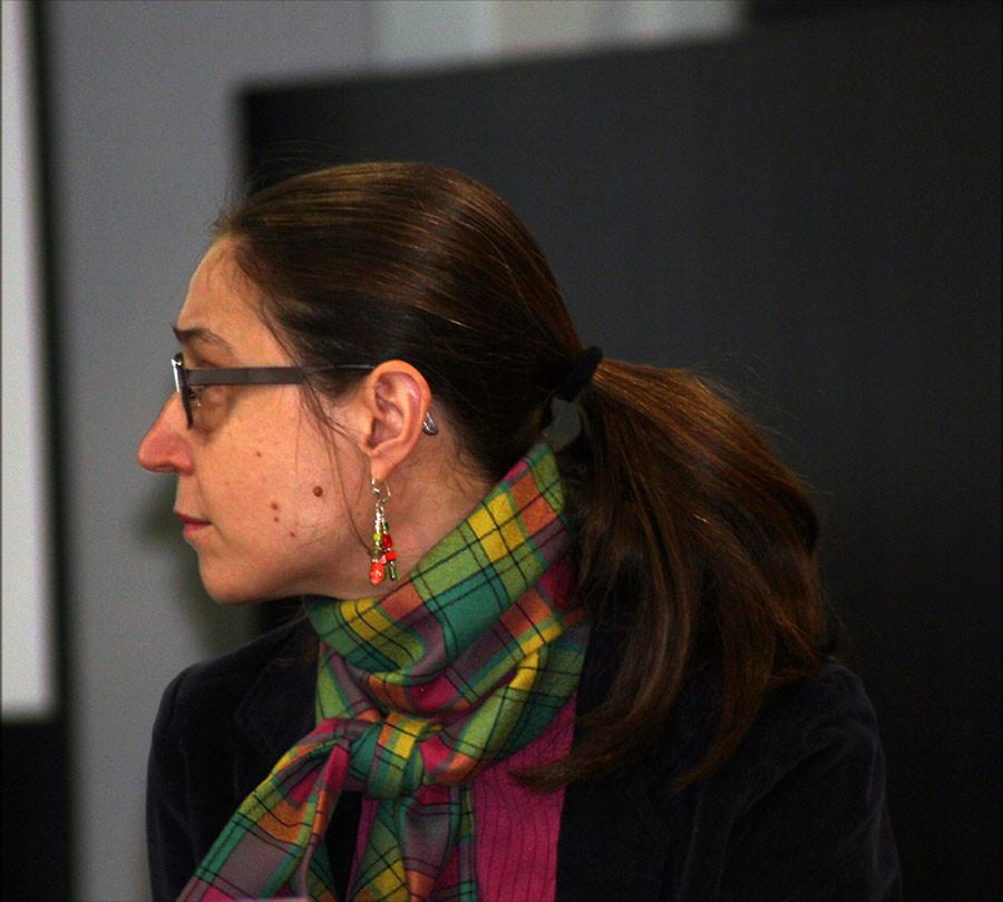 Sandrine de Solan, responsable de la Bibliothèque universitaire : Don des archives de Robert Mallet à la Bibliothèque universitaire d'Amiens