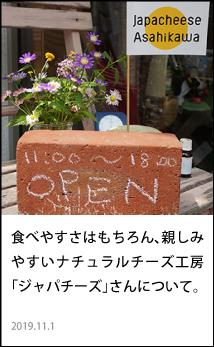 旭川 ジャパチーズ ナチュラルチーズ