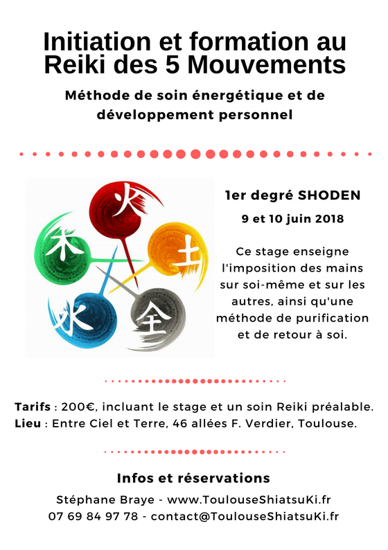 initiation reiki Toulouse