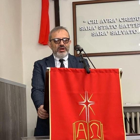 Luigi Pecora, Pastore, nato a Torino il 3 aprile 1964