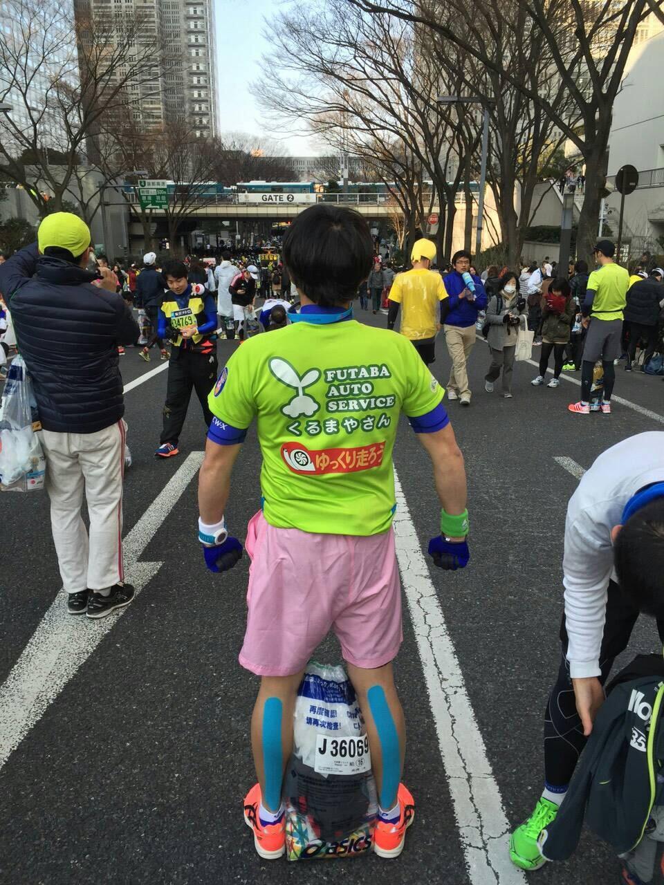 はんこショップ 東京マラソン2