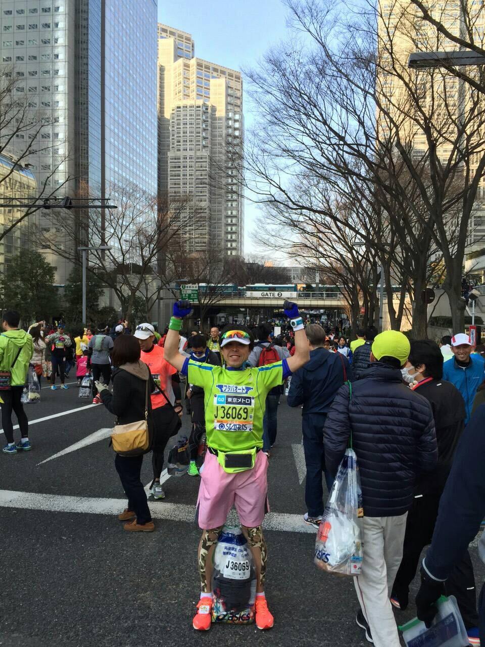 はんこショップ 東京マラソン1