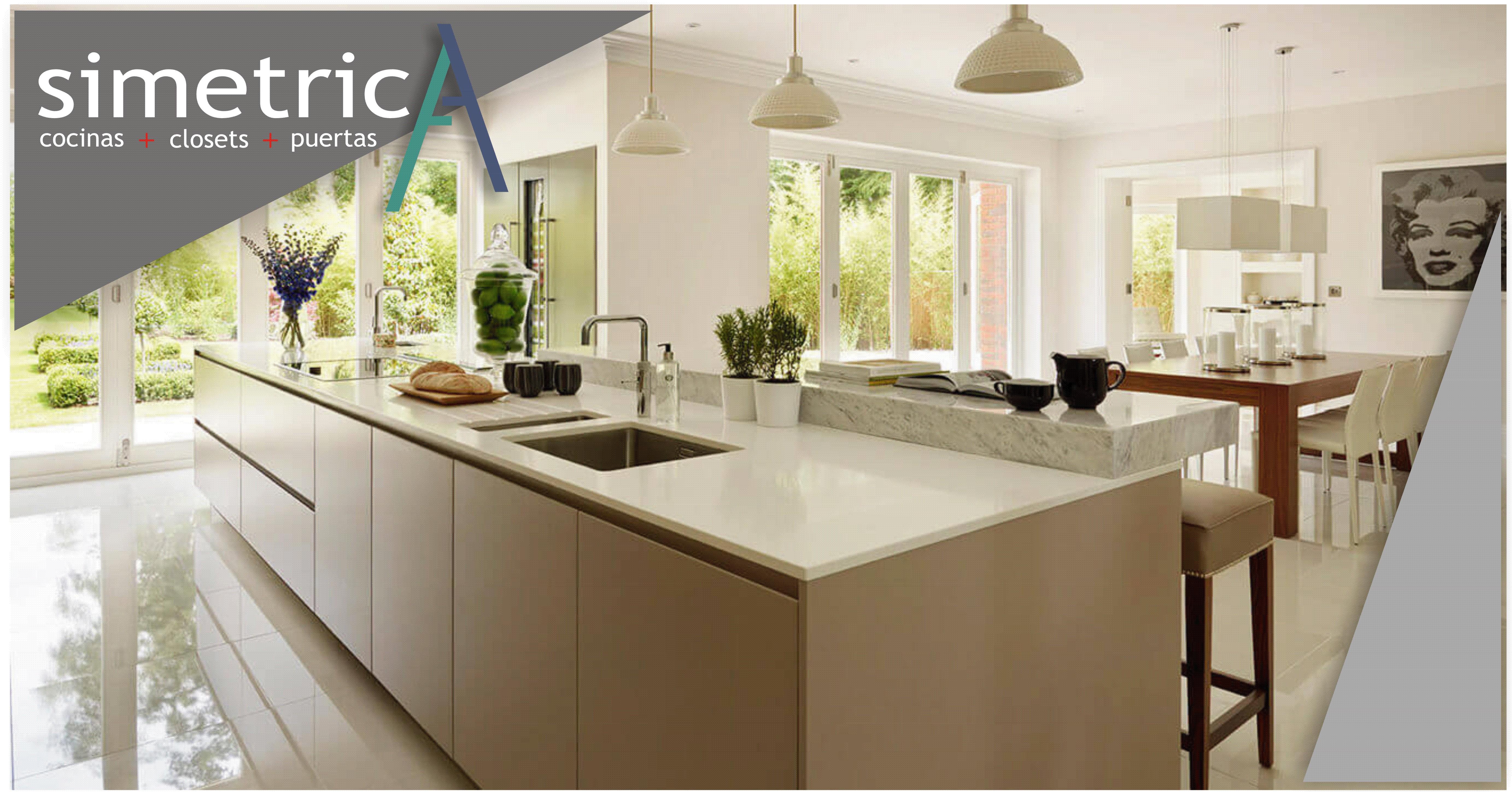 Closets simetrica cocinas closets dise o for App diseno cocinas