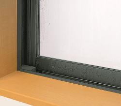 結露の出た窓