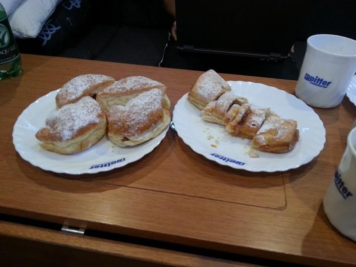 Smutje sorgt für´s Frühstück