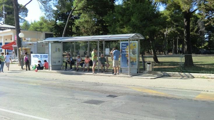 Mit dem Bus nach Zadar