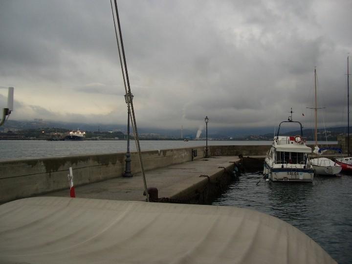Im Hafen von Muggia