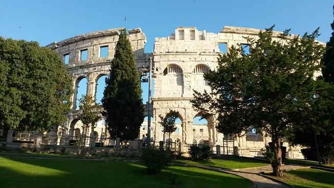 Kolosseum in Pula