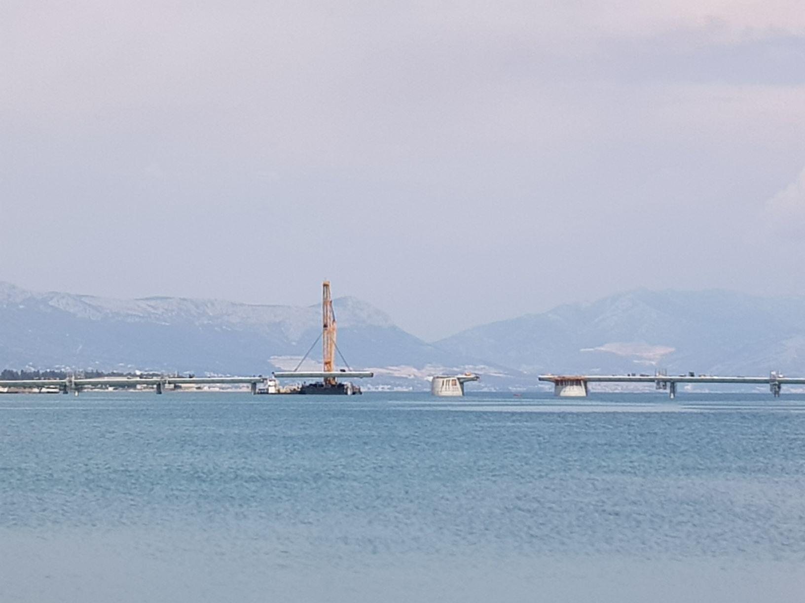 Neue Brücke bei Trogir!