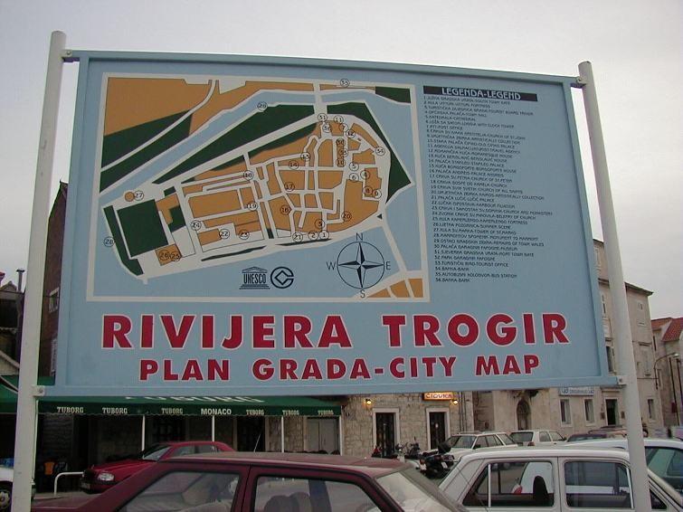 zurück in Trogir