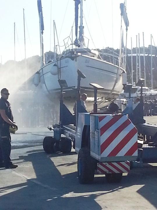 Schiffe waschen