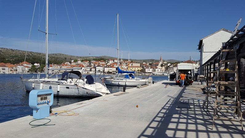 Neue Marina in Milna