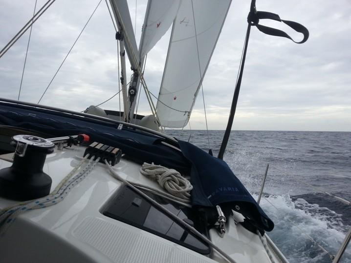 Guter Wind für Manövertraining