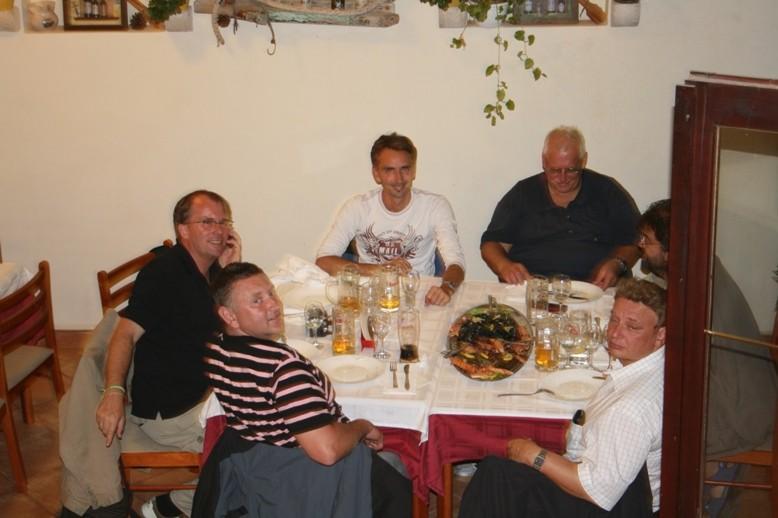 Ein tolles Abendessen in Medulin