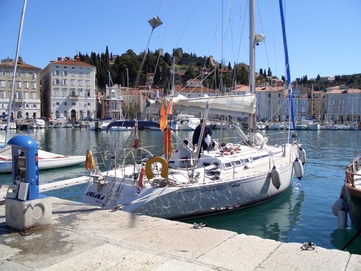 Im Hafen von Piran