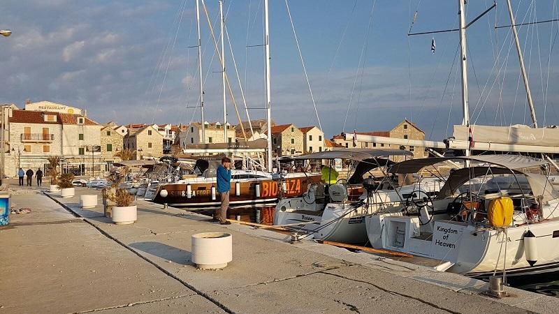 Stadthafen Primosten