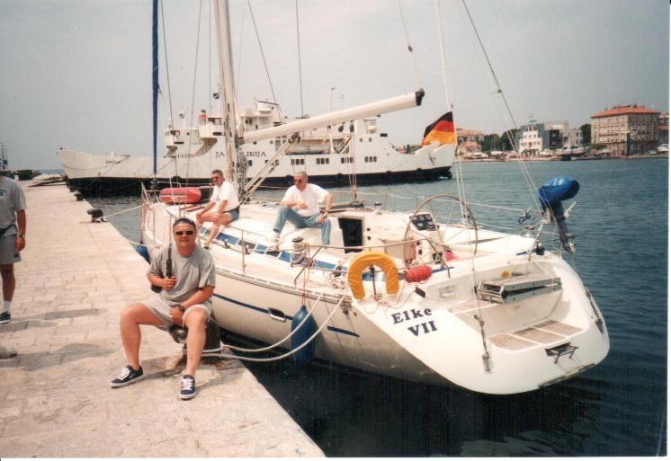 Stadthafen Zadar