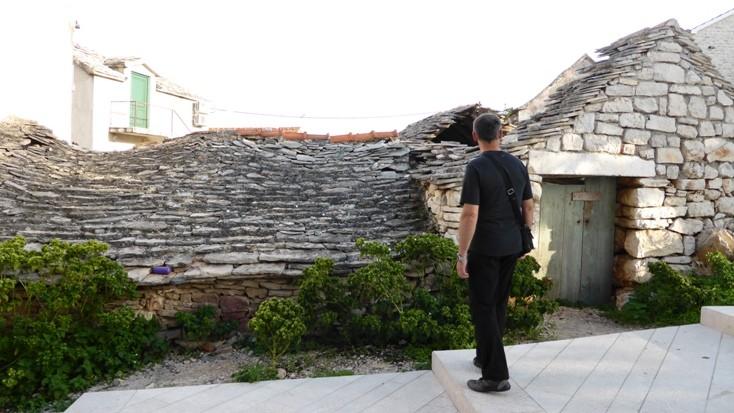Dach aus Steinen
