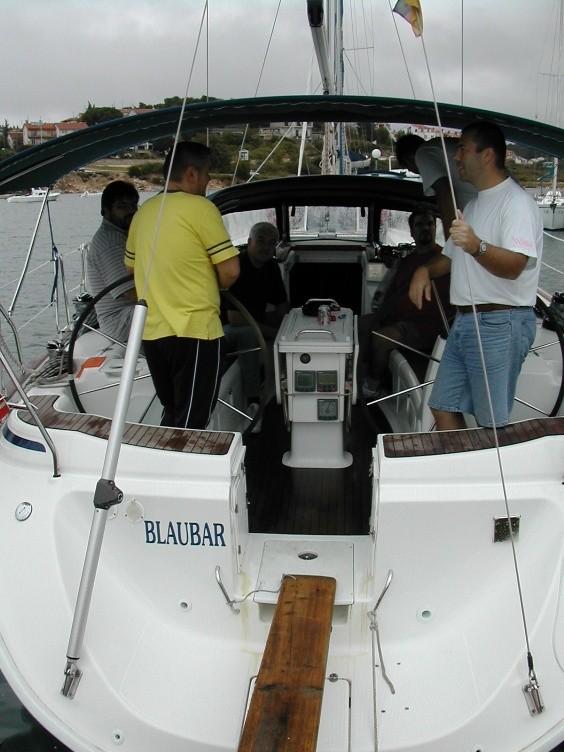 Die Crew der Blaubär