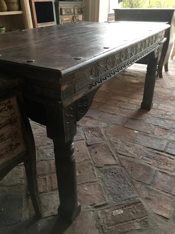 Indischer Tisch esstische indische möbel mehr salzburg