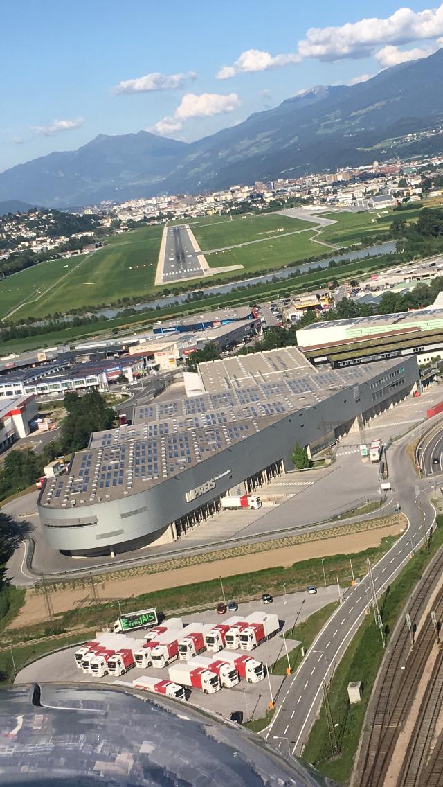 Luftaufnahme MPREIS Servicecenter