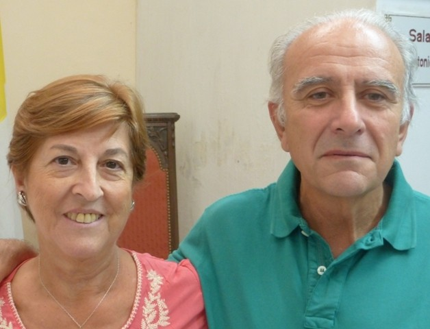 Coqui y Jorge Delfino. Presidentes Nacionales