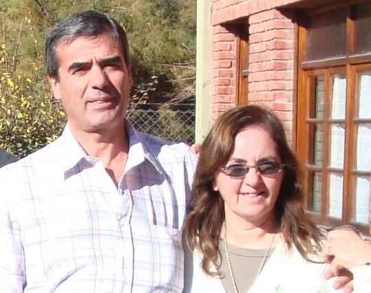 Patricia y Juan Fernandez. Delegados suplentes zona Comahue