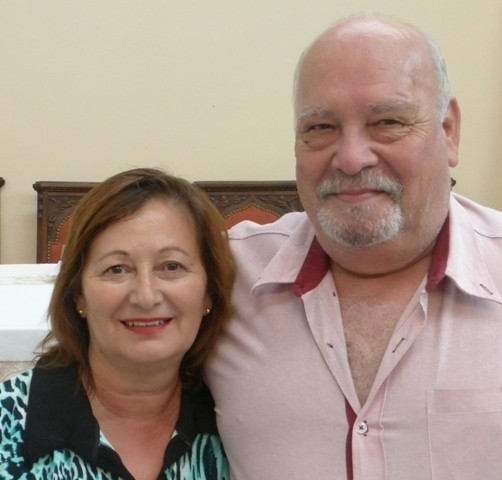 Silvia y Luis Di Filippo. Delegados suplentes zona Centro