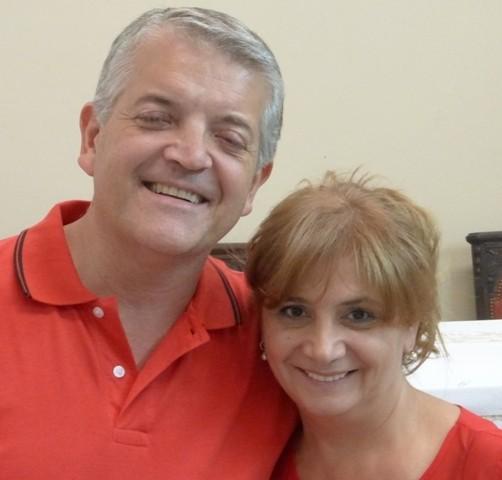 Monica y Hugo Aguero. Coordinadores Nacionales de S&S