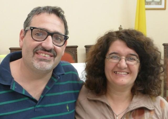 Margarita y Hector Lana. Delegados zona Cuyo
