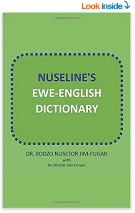 Paperback of the Nuseline's Ewe-English Dictionary