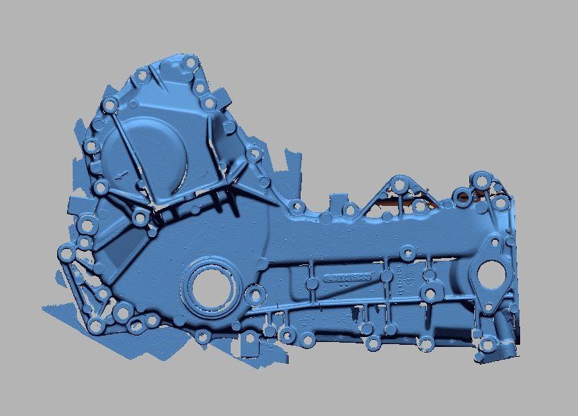 3Dscan Kurbelgehäuse Scooter